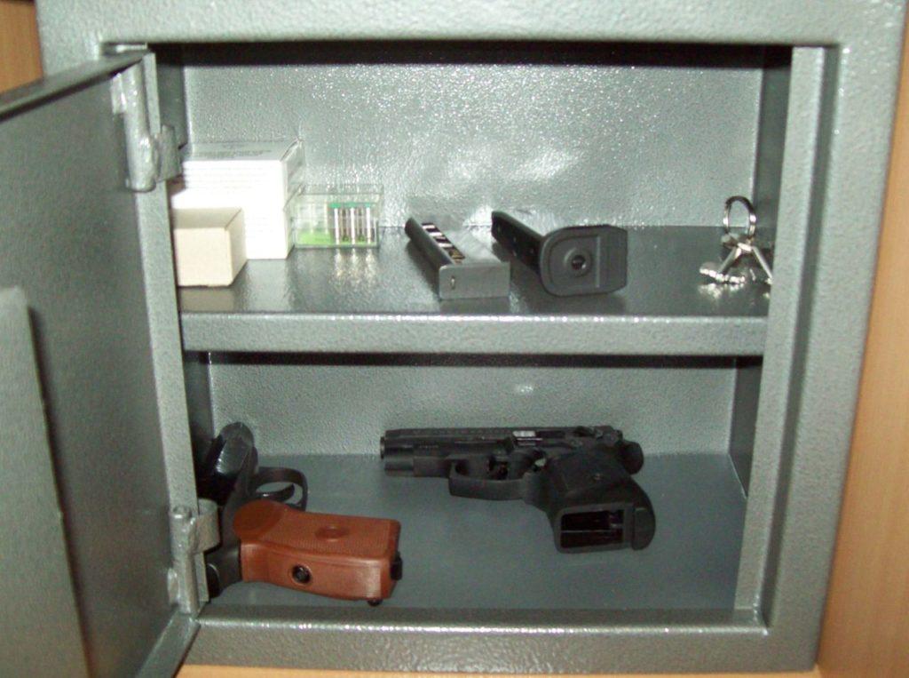 Как Правильно Хранить Оружие Дома