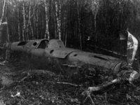 Самолет сбитый